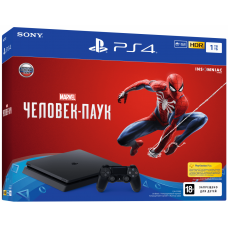 PlayStation 4 SLIM Bundle (1 Tb, Spider-Man), , Консоли